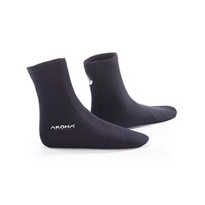 Akona 2mm Neoprene Tall Dive Socks AKBT935