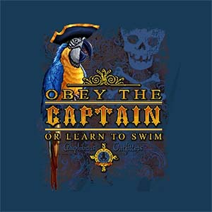Amphibious Outfitters Captains Law T-Shirt