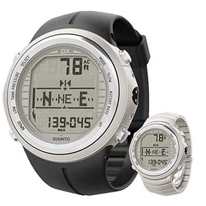 Suunto DX Silver Dive Computer Watch