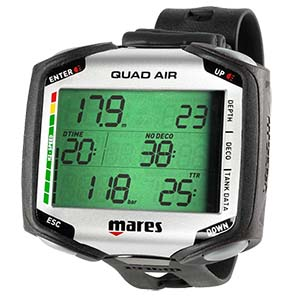 Mares Quad Air Wrist Computer Only