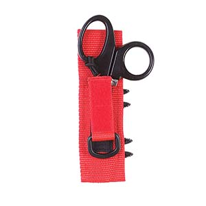Dive Rite Trauma Shears With Daisy Chain Sheath