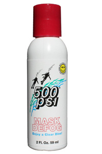 500 PSI Mask Defog