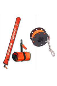Safety Tube and Finger Spool Package