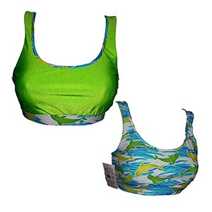 Wow Reversible Sports Bra by Dive Buddy Originals