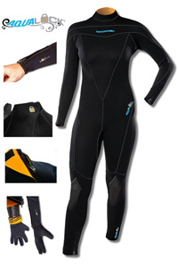 Henderson Aqua Lock 3mm Women's Full Wetsuit